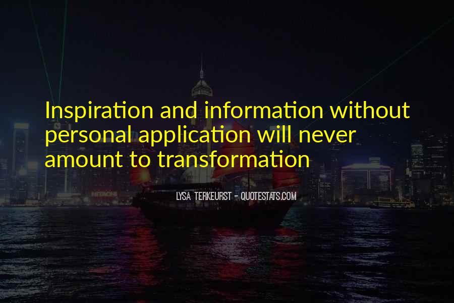 Lysa Quotes #367366