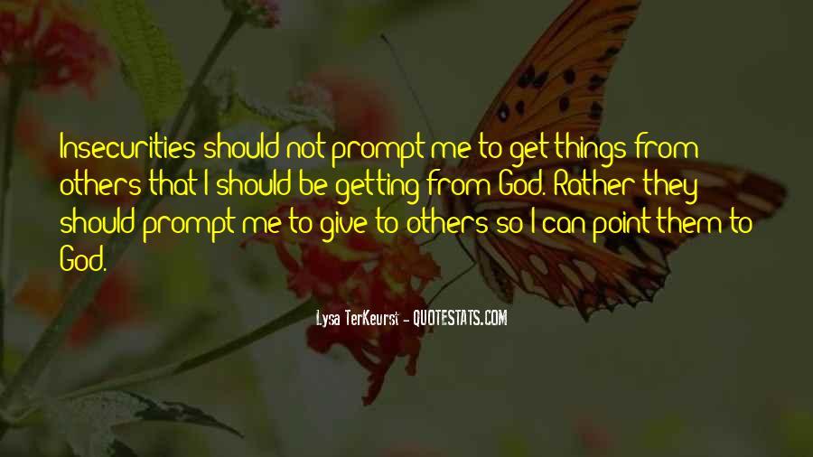 Lysa Quotes #418212