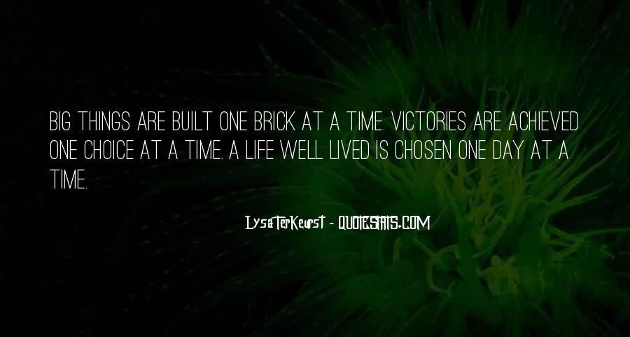 Lysa Quotes #437593