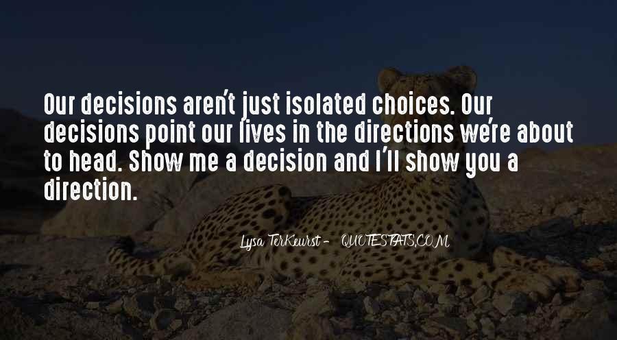 Lysa Quotes #444543