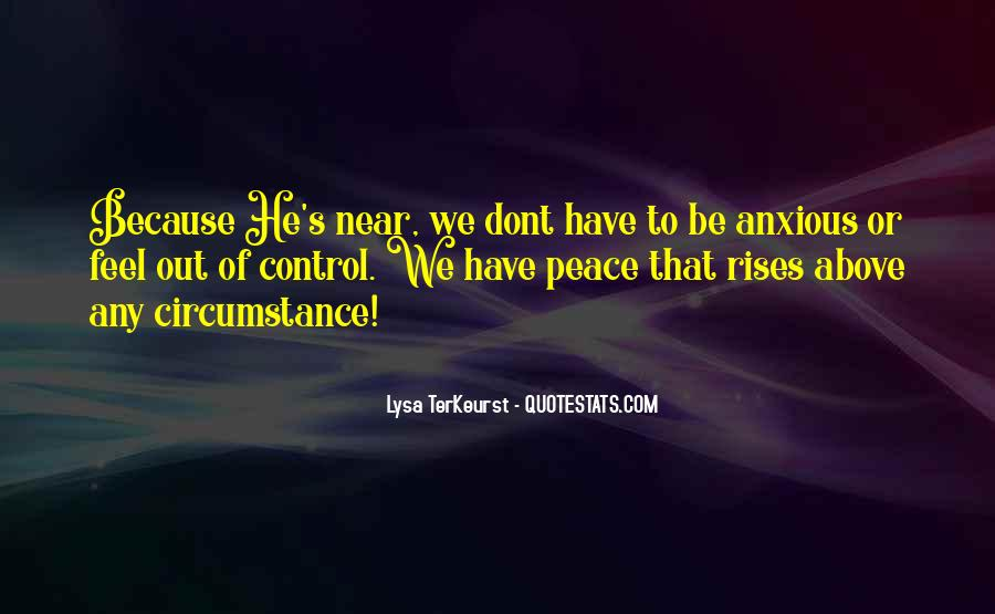 Lysa Quotes #449734