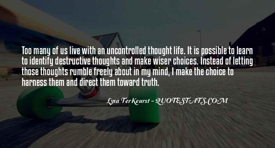 Lysa Quotes #462637