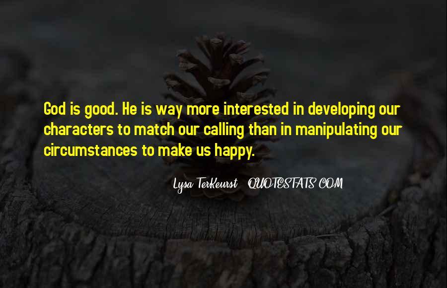 Lysa Quotes #476974