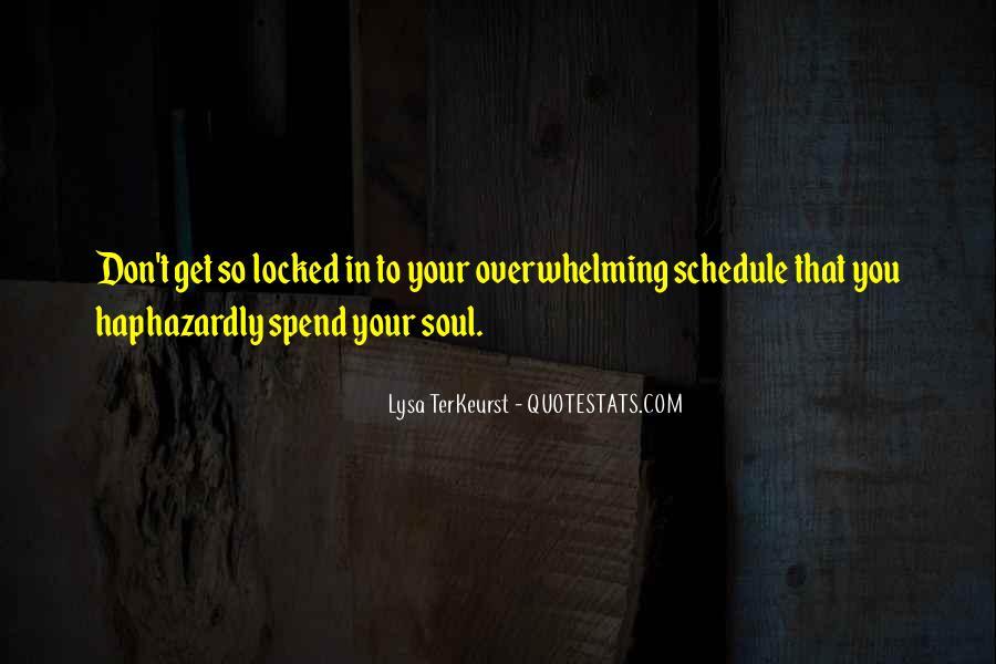 Lysa Quotes #54152