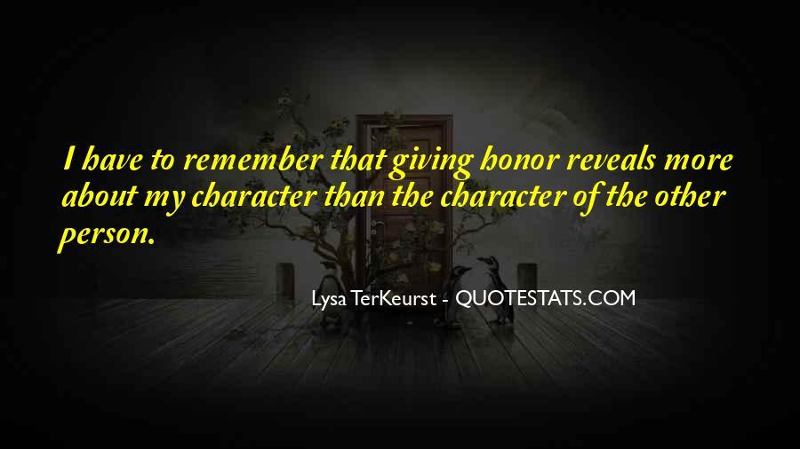 Lysa Quotes #80124