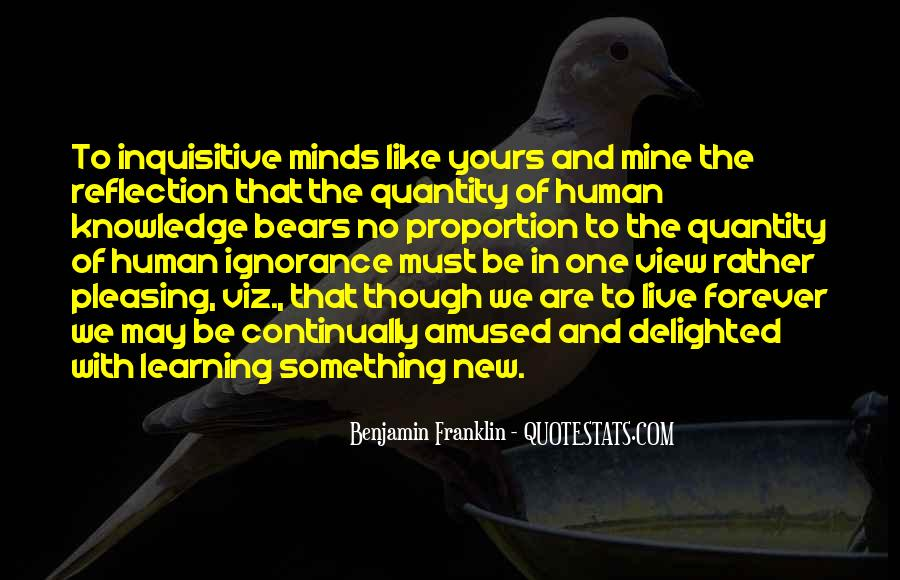Quotes About Learning Something New #109885