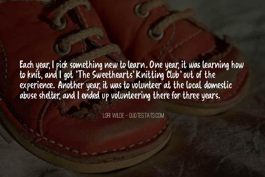 Quotes About Learning Something New #1681814