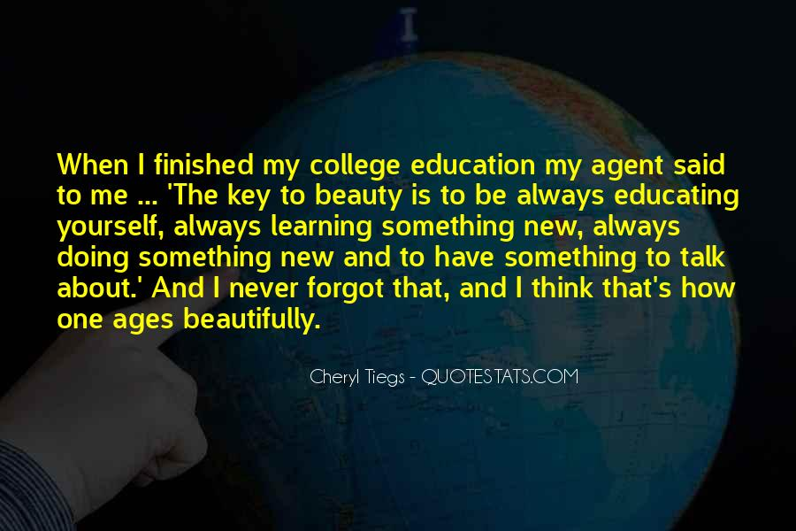 Quotes About Learning Something New #1816427