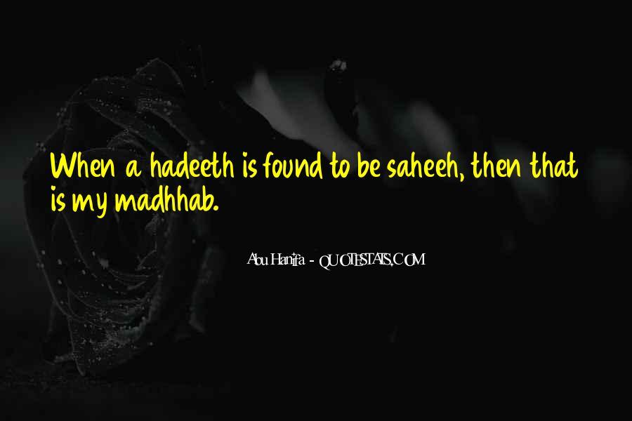 Madhhab Quotes #1439764