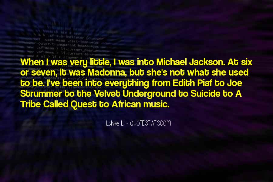 Madonna's Quotes #299288