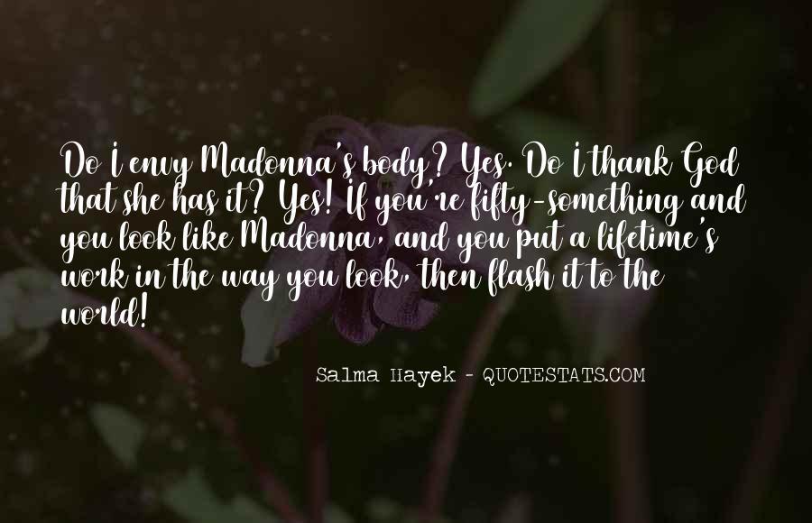 Madonna's Quotes #753343