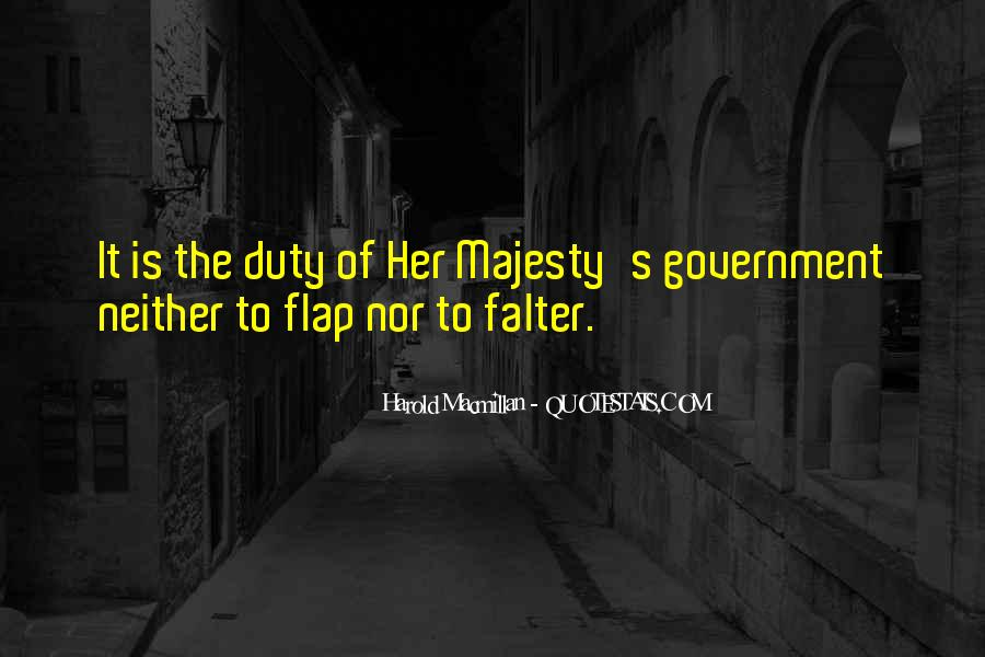 Majesty's Quotes #60829