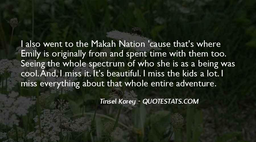 Makah Quotes #1691964
