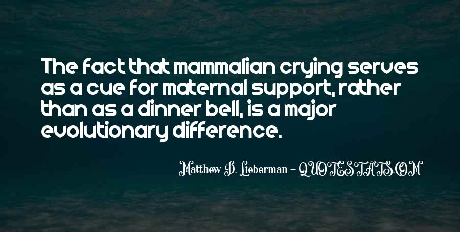 Mammalian Quotes #83458