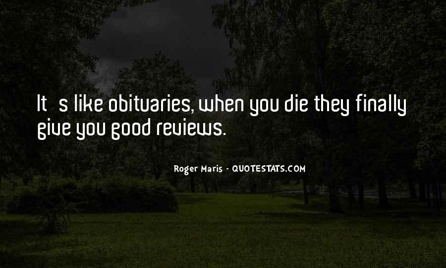 Maris's Quotes #1446780