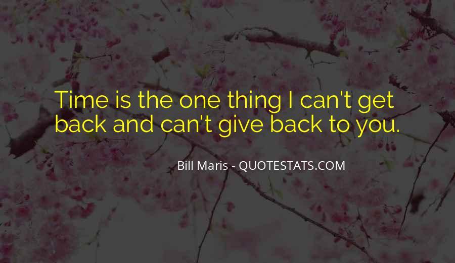 Maris's Quotes #31571