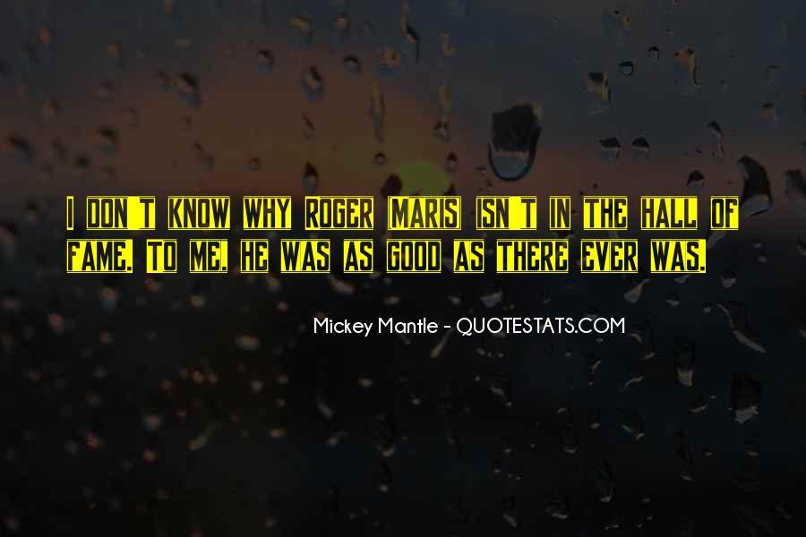 Maris's Quotes #527421
