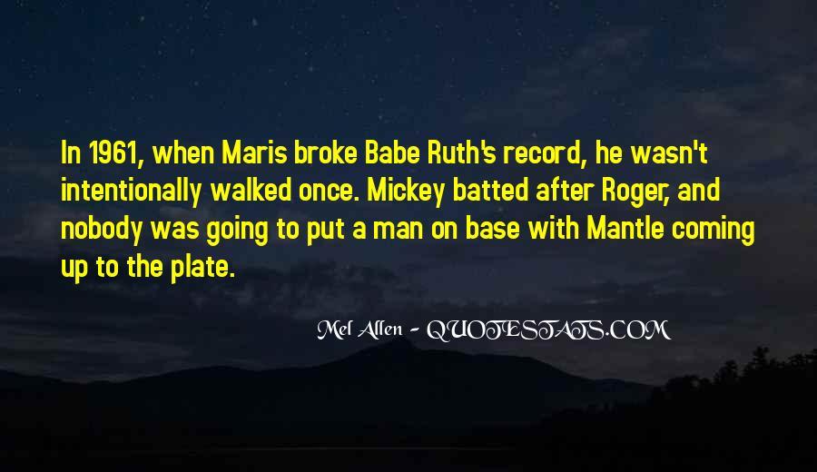 Maris's Quotes #548219