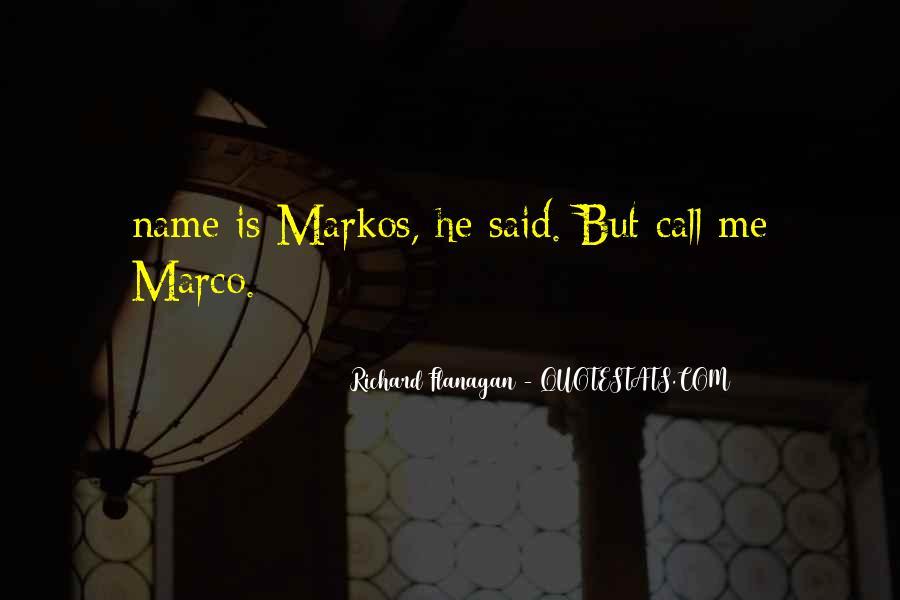 Markos Quotes #1477143