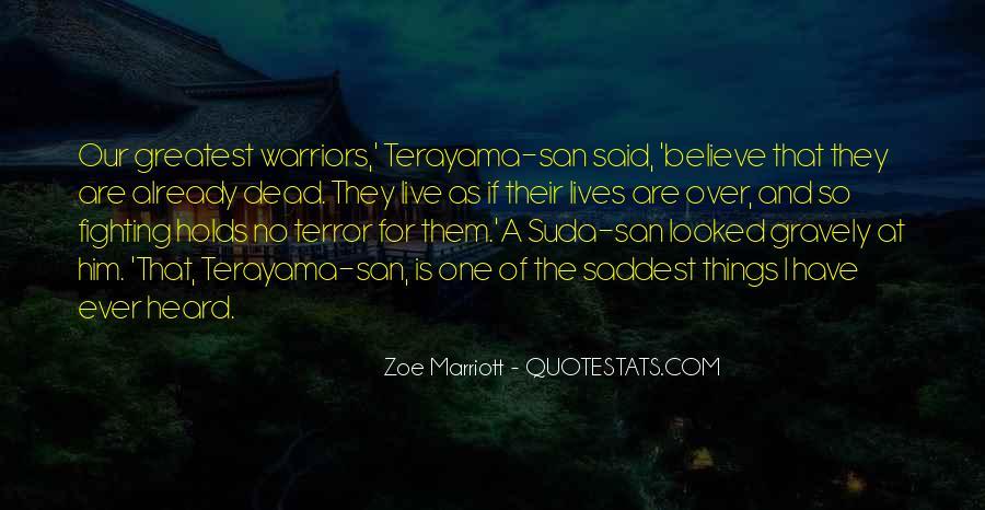 Marriott's Quotes #1058127