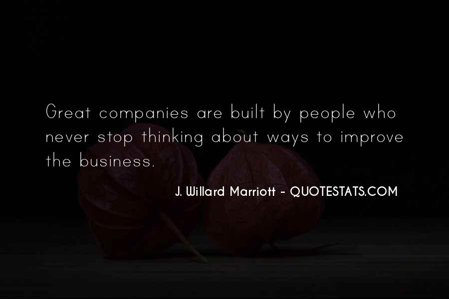 Marriott's Quotes #1524540