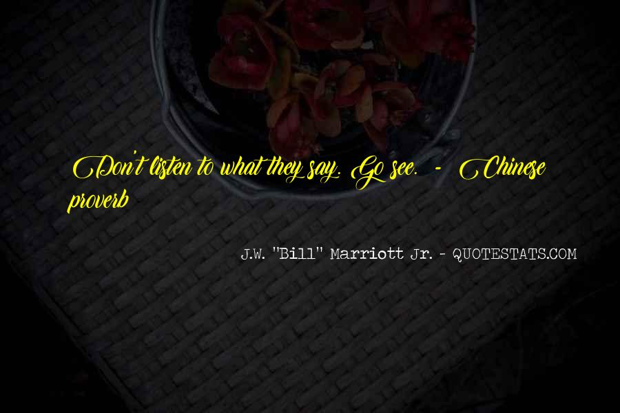 Marriott's Quotes #17667