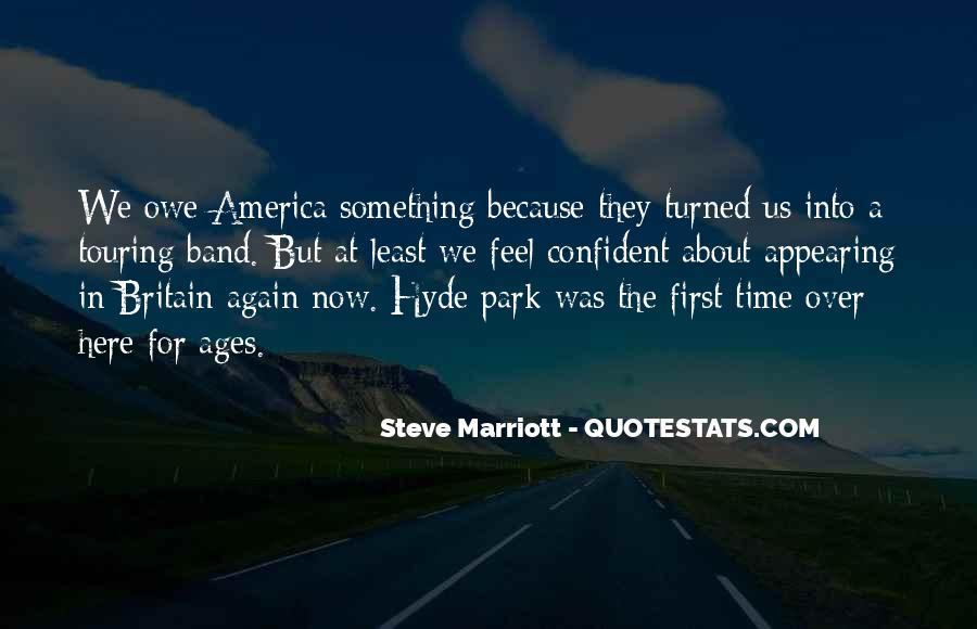 Marriott's Quotes #1817058
