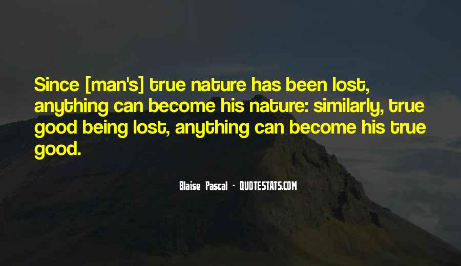 Quotes About Being Lost In Nature #1781481
