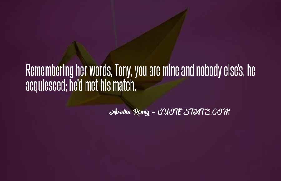 Match'd Quotes #1212556