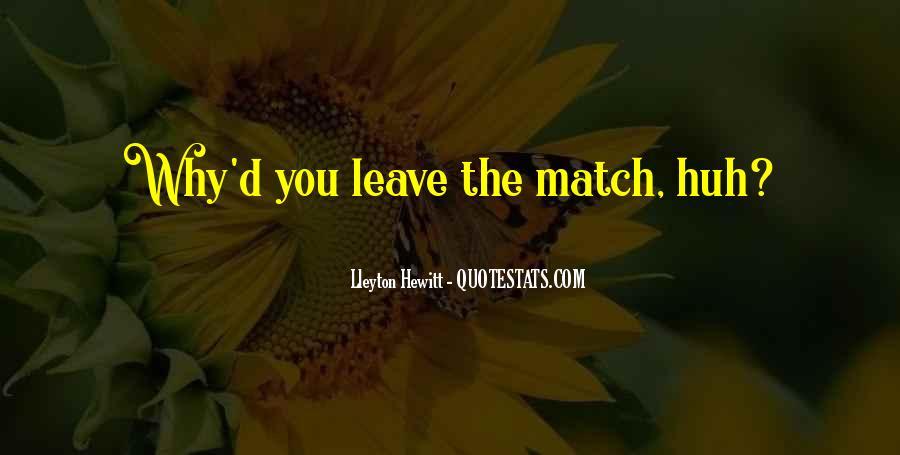Match'd Quotes #509569