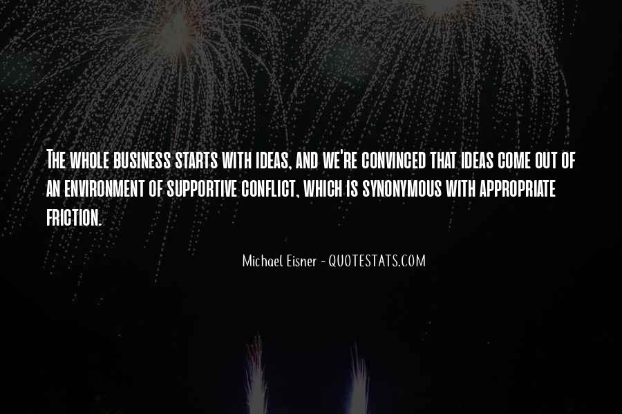 Quotes About The Business Environment #1007378