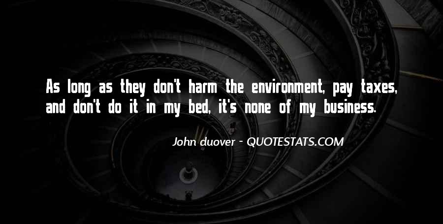 Quotes About The Business Environment #1018726