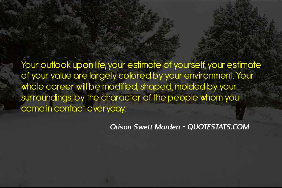 Quotes About The Business Environment #1027495