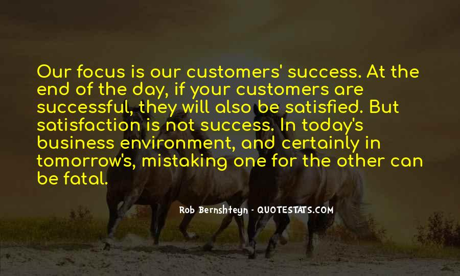 Quotes About The Business Environment #1056735