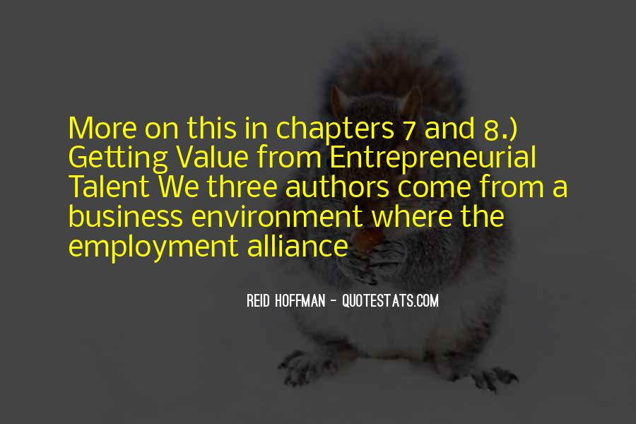 Quotes About The Business Environment #1065917
