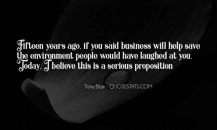 Quotes About The Business Environment #1094966