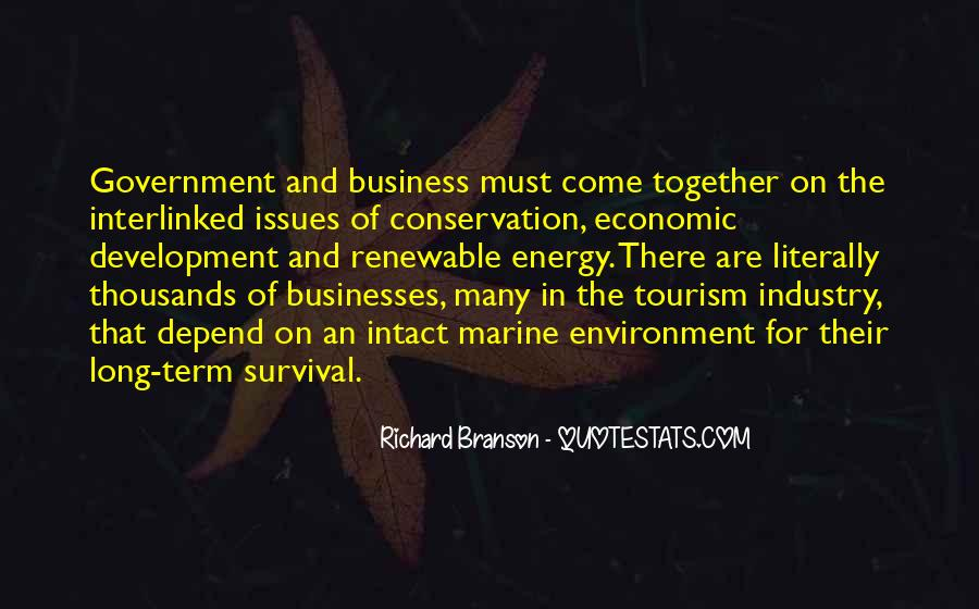 Quotes About The Business Environment #1144871