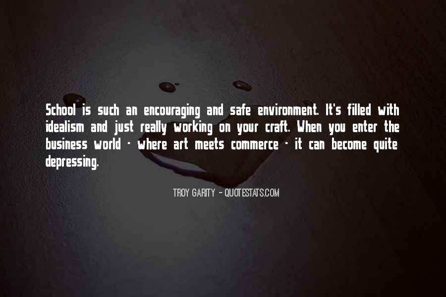 Quotes About The Business Environment #1233454