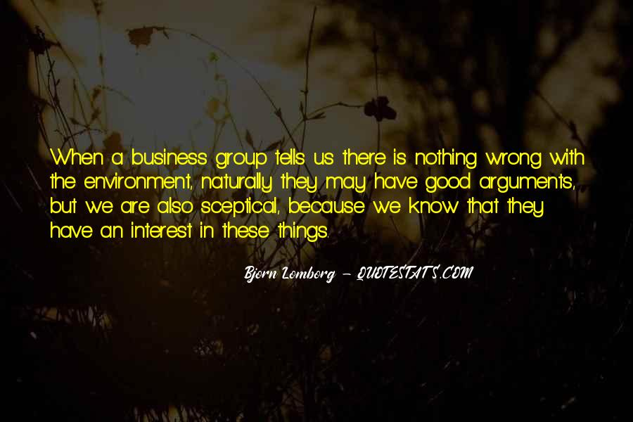 Quotes About The Business Environment #1277443