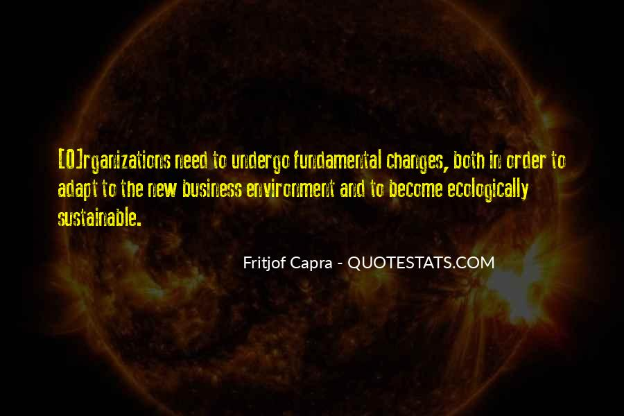 Quotes About The Business Environment #1440913