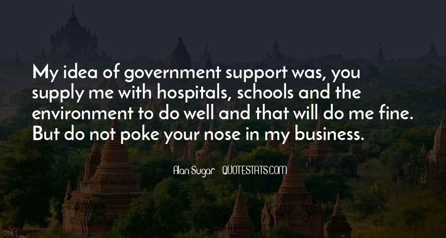 Quotes About The Business Environment #1453770