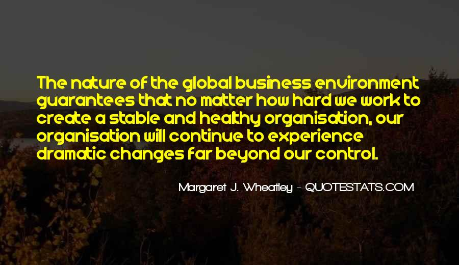 Quotes About The Business Environment #14685