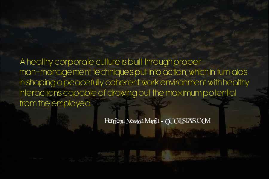 Quotes About The Business Environment #1475019