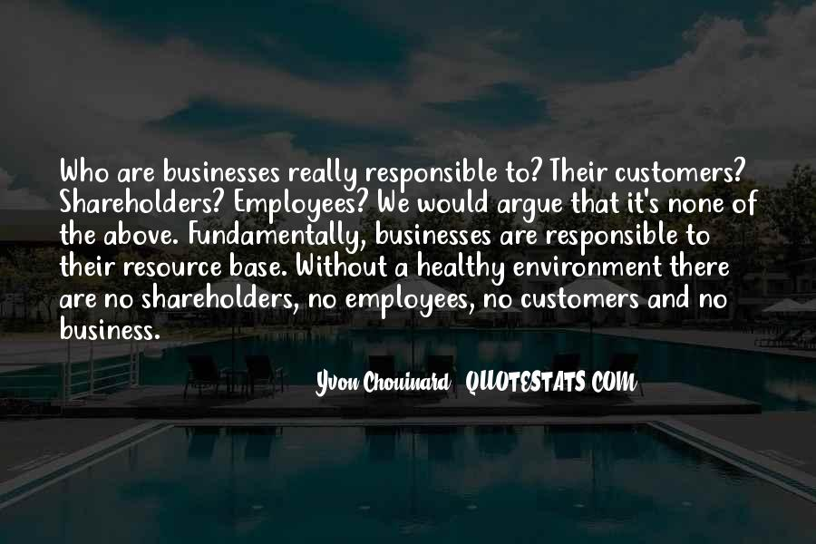 Quotes About The Business Environment #1532130
