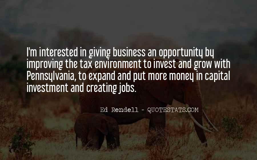 Quotes About The Business Environment #1563664