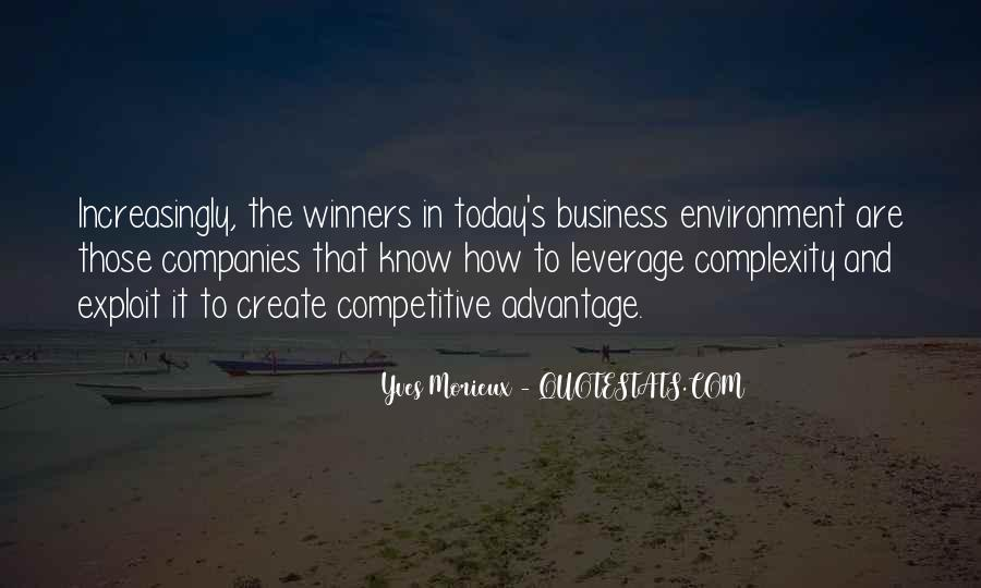 Quotes About The Business Environment #1789464
