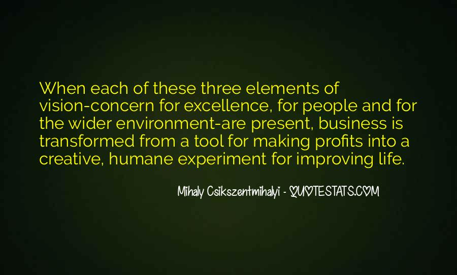Quotes About The Business Environment #179771