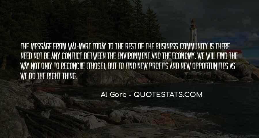 Quotes About The Business Environment #180980