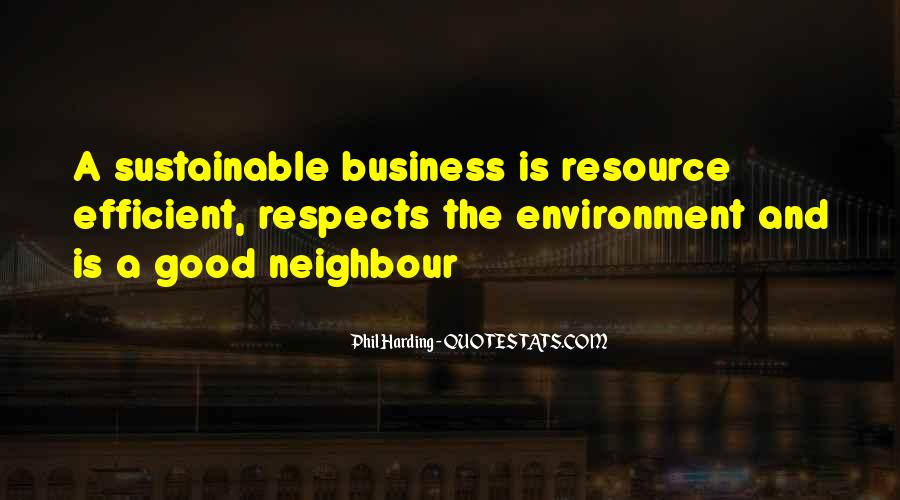 Quotes About The Business Environment #358355