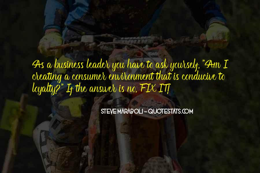 Quotes About The Business Environment #64219